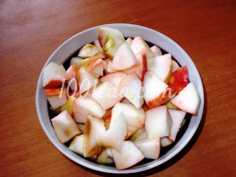 """Пирог """"Яблоки под снегом"""": пошаговый с фото - Шаг №2"""