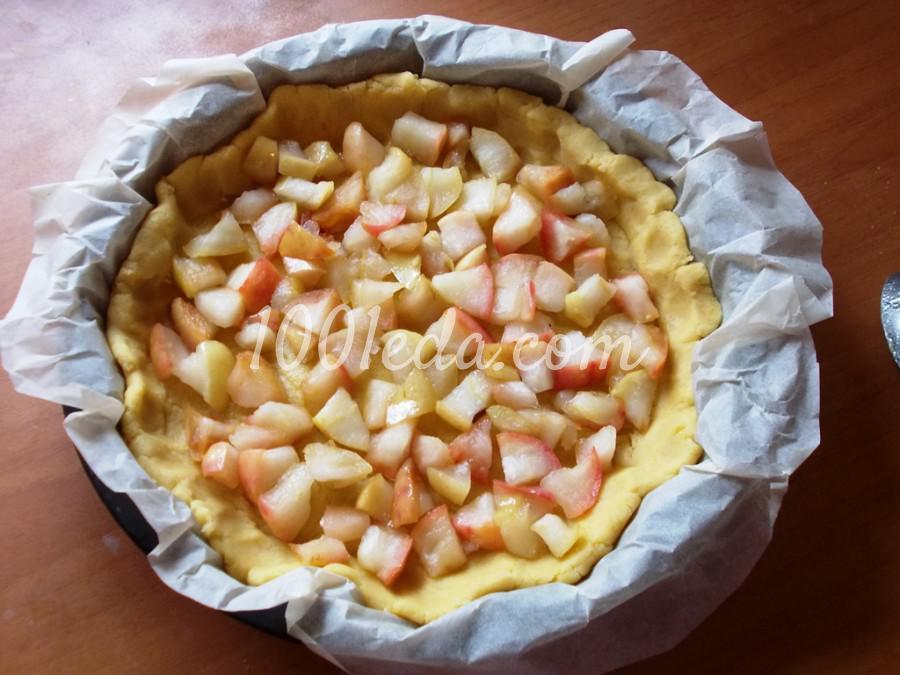 """Пирог """"Яблоки под снегом"""": пошаговый с фото - Шаг №4"""