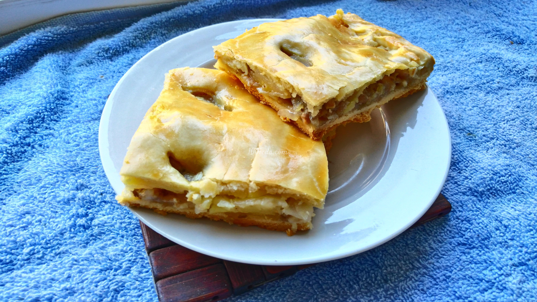 Пирог из песочного теста с мясом рецепт с пошагово
