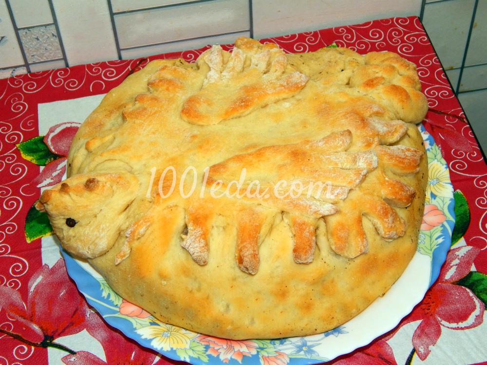 пирог из песочного теста с мясом рецепт с фото