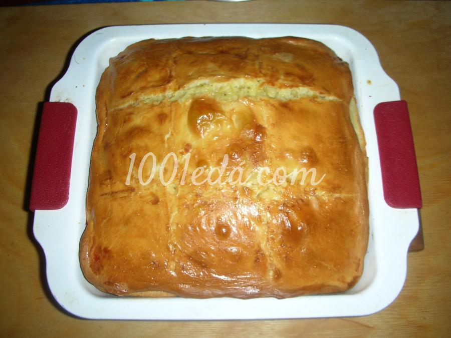 Сдобное тесто для пирожков с пошаговым