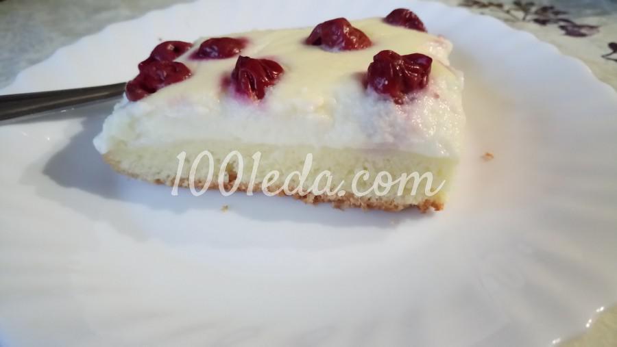Пирог с вишней и заварным кремом: рецепт с пошаговым фото - Шаг №10