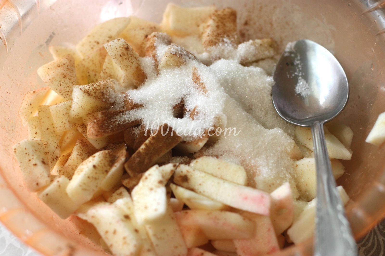 лимонный пирог с яблоками рецепт