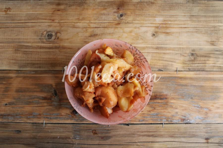 Пирог с вялеными яблоками: пошаговый с фото - Шаг №1