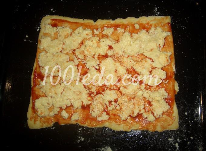 Пирог - закуска Завитушечное солнышко: рецепт с пошаговым фото - Шаг №2