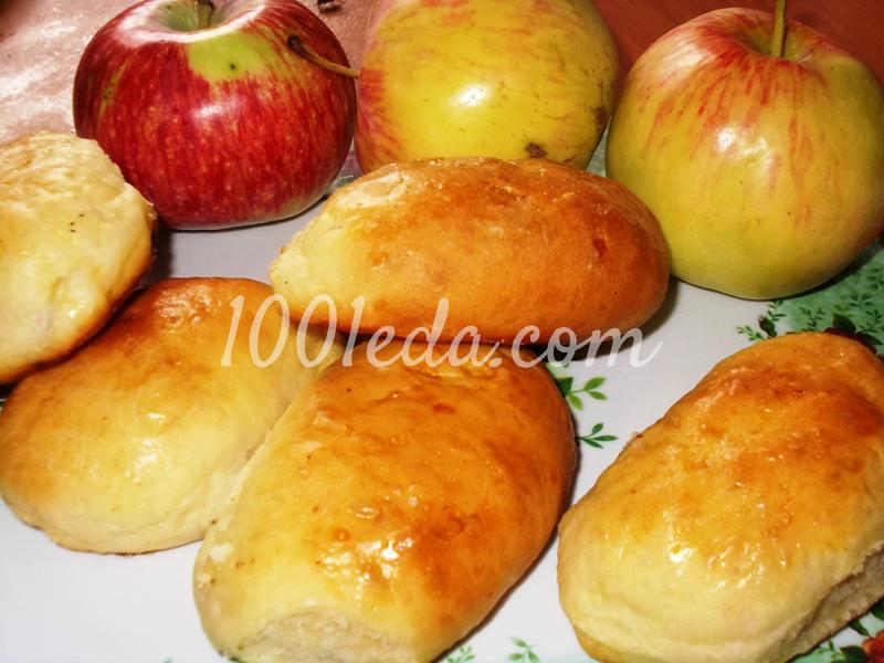 Пирожки с яблоками – кулинарный рецепт
