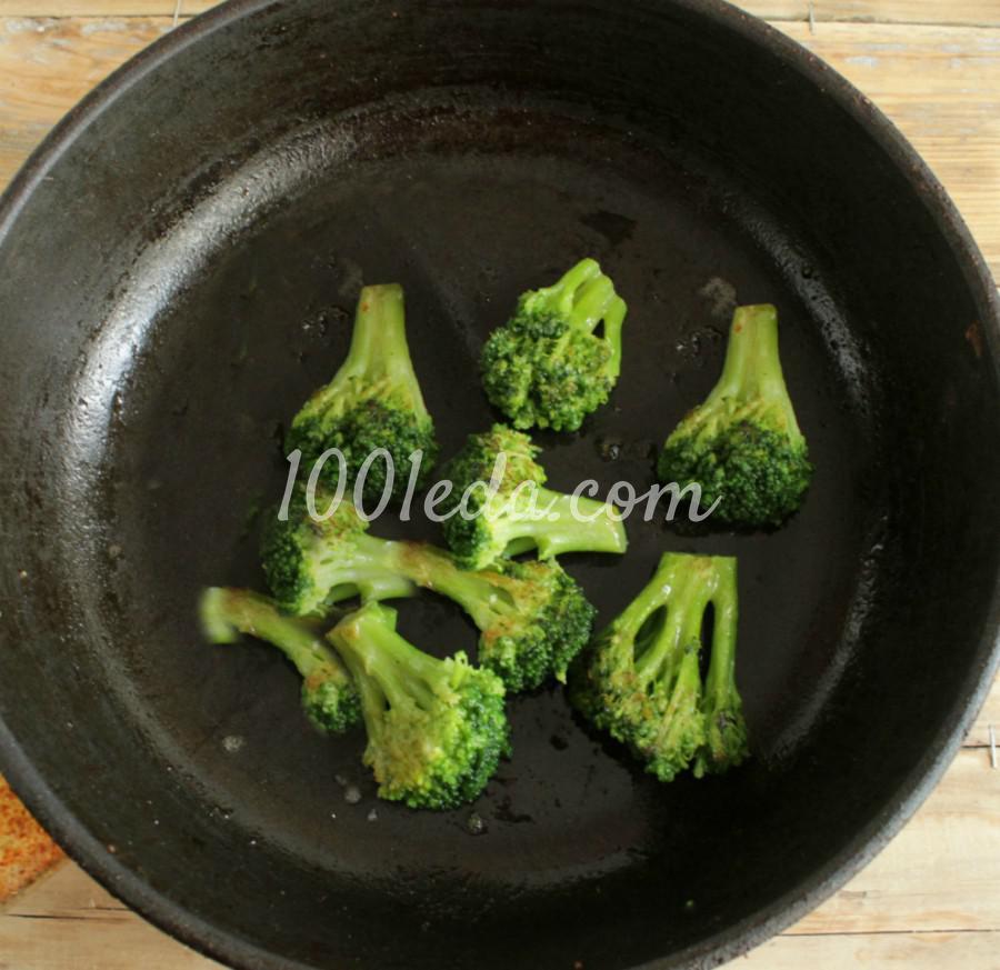 Полезная жареная капуста брокколи: пошаговый с фото - Шаг №4
