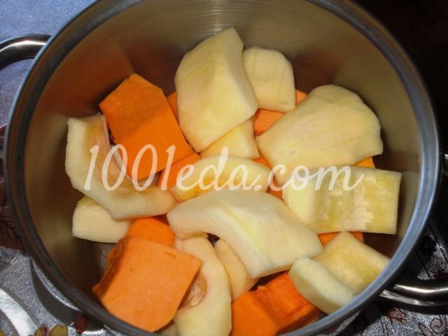 Полезнейшее пюре из тыквы и кабачка для деток и взрослых: пошаговое фото - Шаг №3