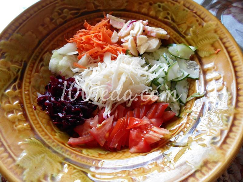 Полезнейший салат для поста и не только: пошаговый с фото - Шаг №2
