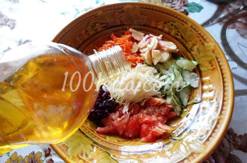 Полезнейший салат для поста и не только: пошаговый с фото - Шаг №3