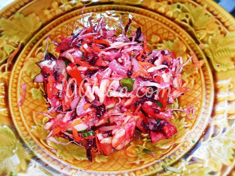 Полезнейший салат для поста и не только: пошаговый с фото - Шаг №4