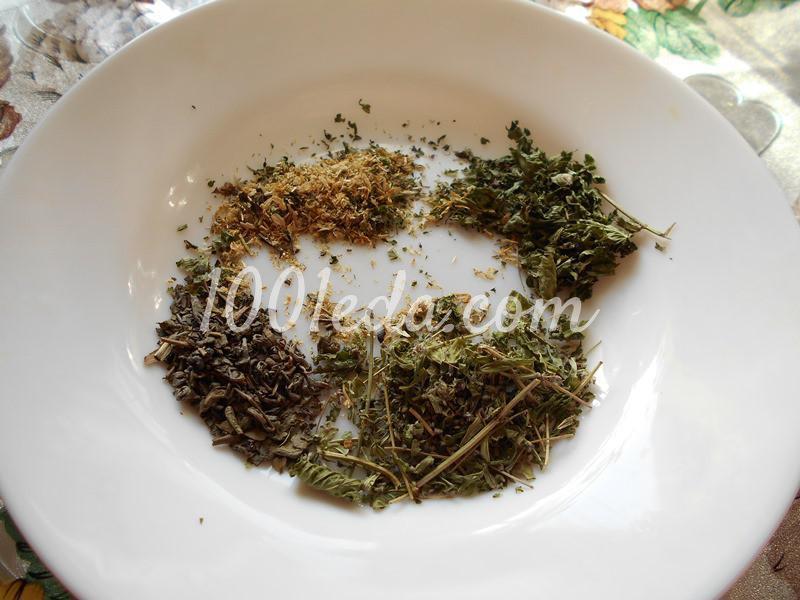 Полезный травяной напиток для поста: пошаговый с фото - Шаг №1