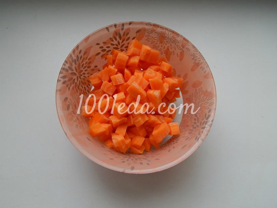 Постная домашняя лапша с овощами: пошаговый с фото - Шаг №3