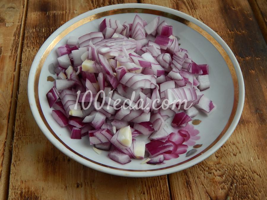 Постная домашняя лапша с овощами: пошаговый с фото - Шаг №4