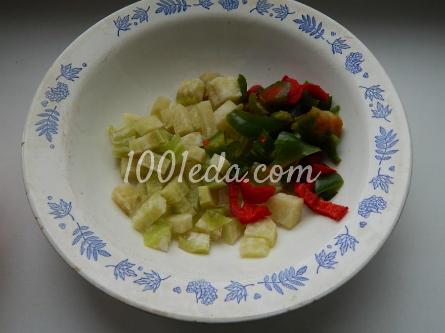 Постная домашняя лапша с овощами: пошаговый с фото - Шаг №5