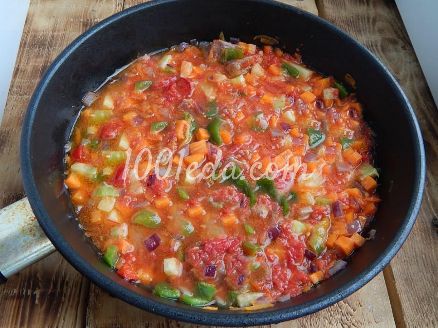 Постная домашняя лапша с овощами: пошаговый с фото - Шаг №7