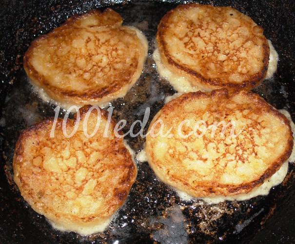 Оладушки из кабачков на кефире рецепт пошагово 9