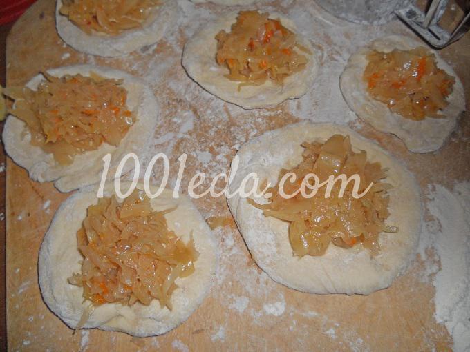 Постные пирогиы с пошаговым фото