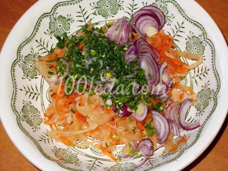 Салат из капусты с пошаговым приготовлением и фото