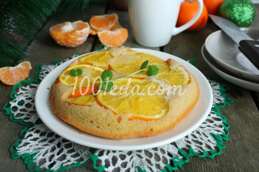 Простой апельсиновый пирог: пошаговый с фото - Шаг №6