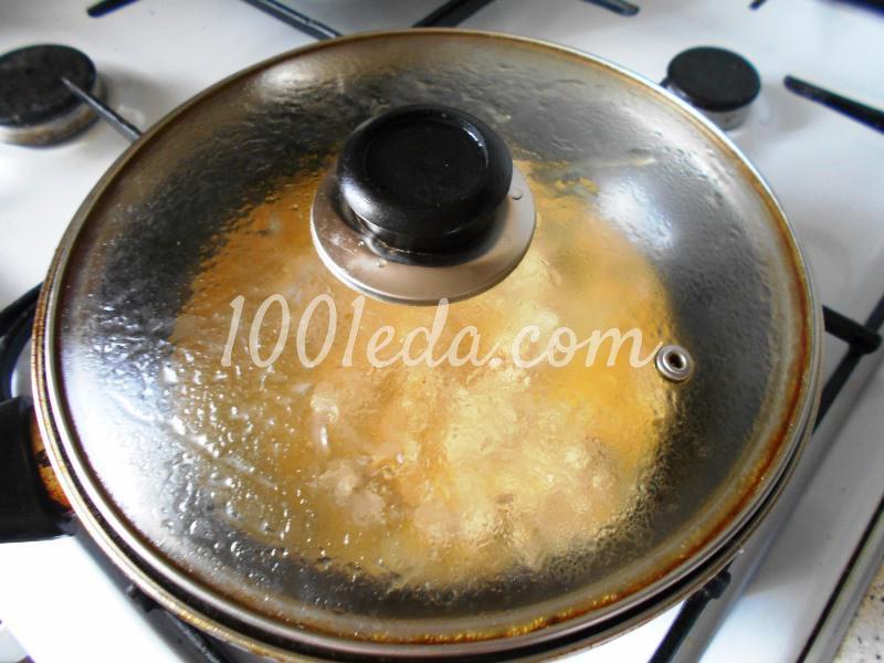 Простой и вкусный ужин из фарша с яйцом: пошаговое фото - Шаг №4