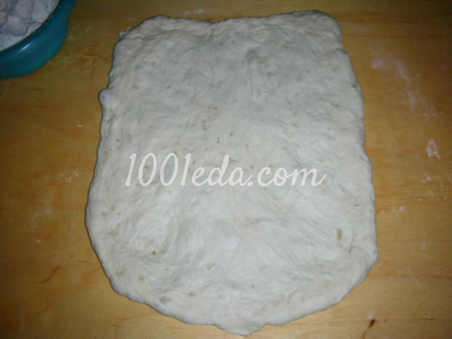 Простой безопарный луковый хлеб: рецепт с пошаговым фото - Шаг №14