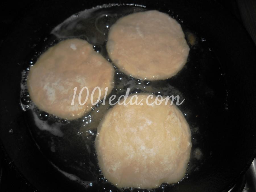 Простые лепёшки на кефире: пошаговое фото - Шаг №10
