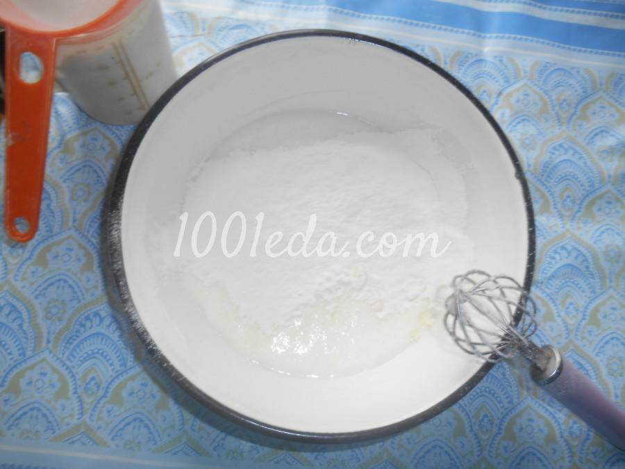 Простые лепёшки на кефире: пошаговое фото - Шаг №3