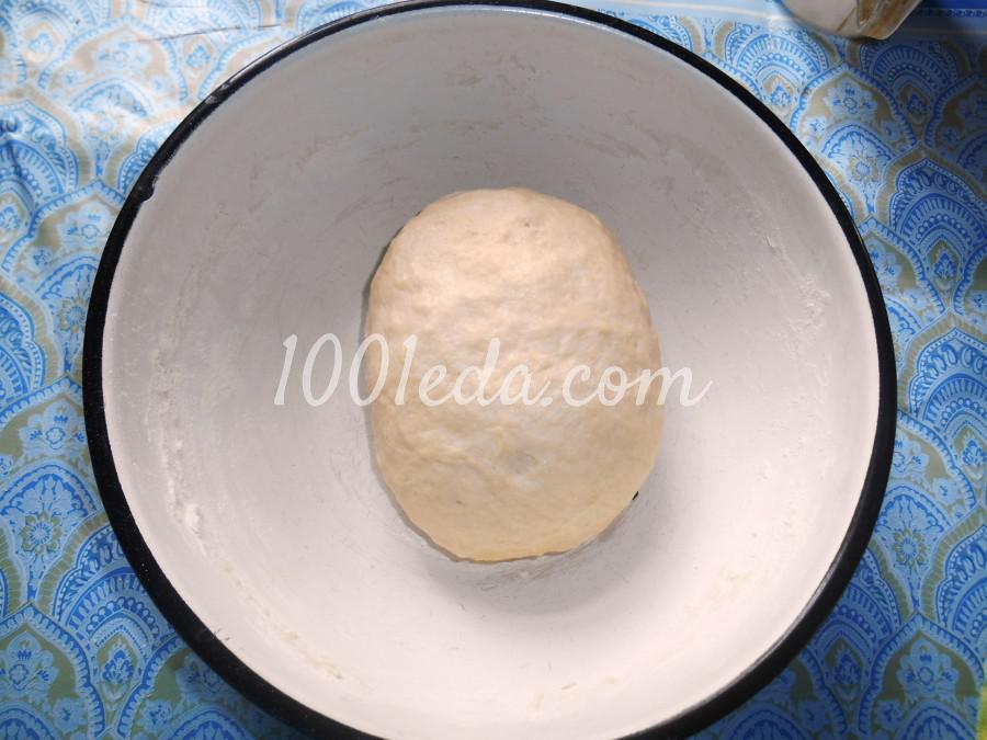 Простые лепёшки на кефире: пошаговое фото - Шаг №7