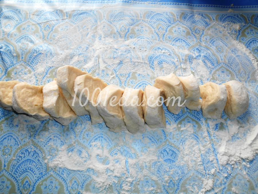 Простые лепёшки на кефире: пошаговое фото - Шаг №8