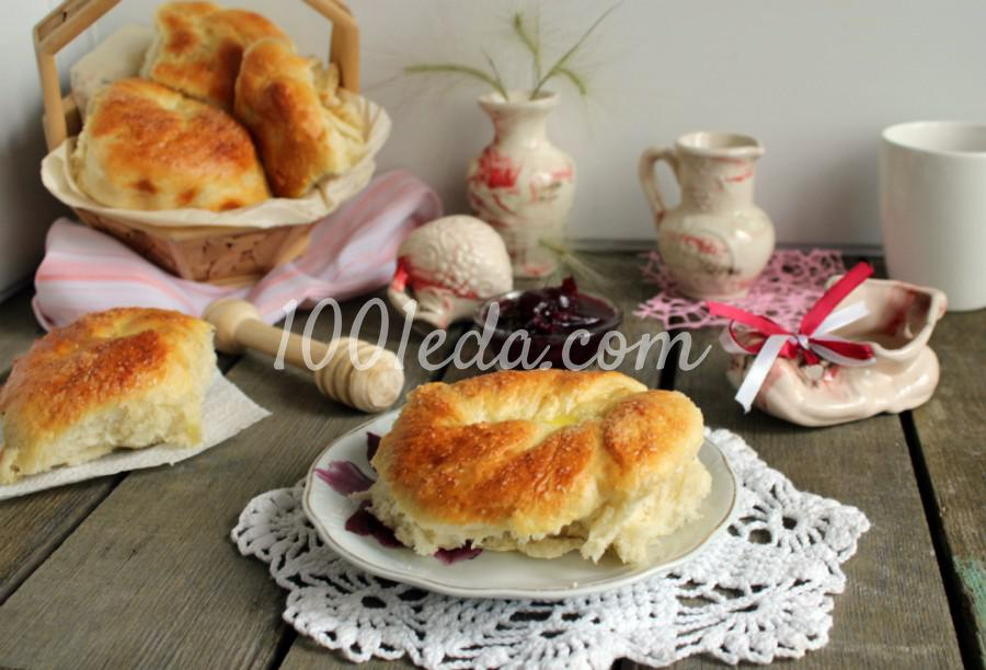 """Простые сахарные булочки """"завитушки"""": пошаговый с фото - Шаг №6"""