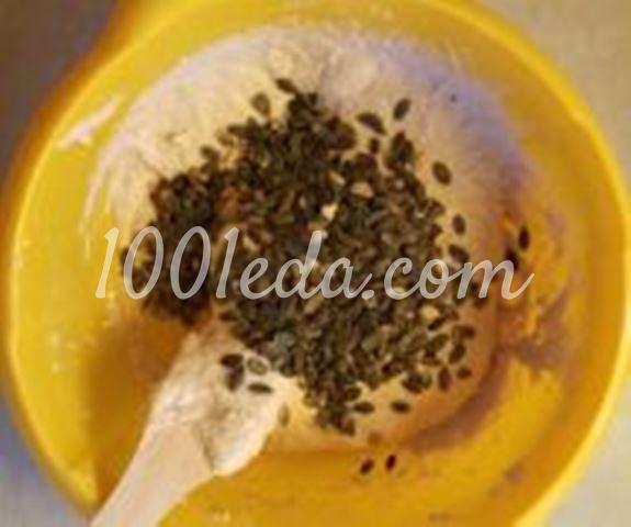 Пшенично-ржаной хлеб с тыквенными семечками: пошаговый с фото - Шаг №7
