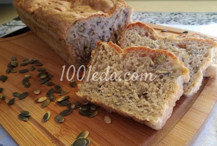 Пшенично-ржаной хлеб с тыквенными семечками: пошаговый с фото - Шаг №8
