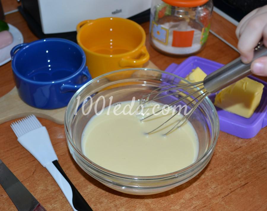 Пышный омлет в духовке: пошаговый с фото - Шаг №4