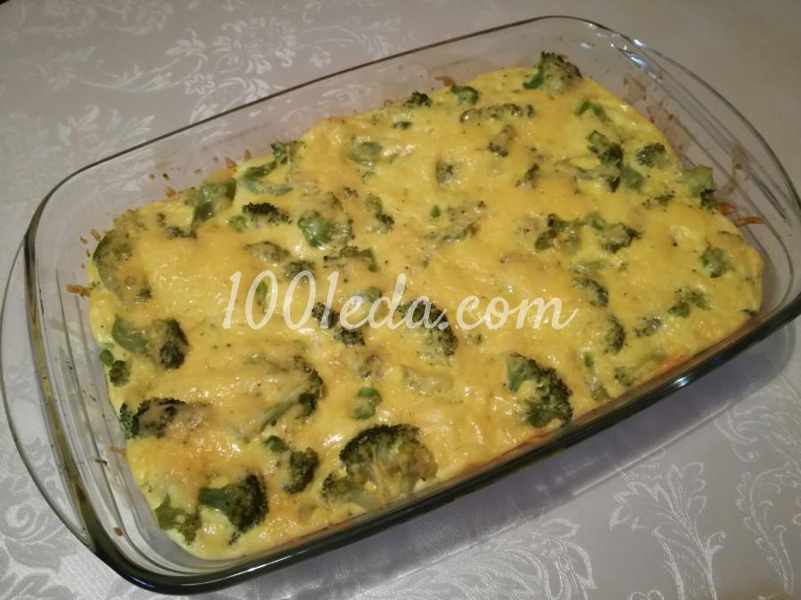 Брокколи со сливками и сыром: пошаговый с фото