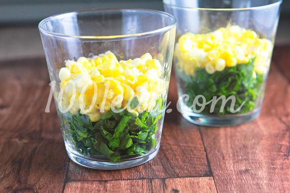 Радужный салат в стакане: рецепт с пошаговым фото - Шаг №2