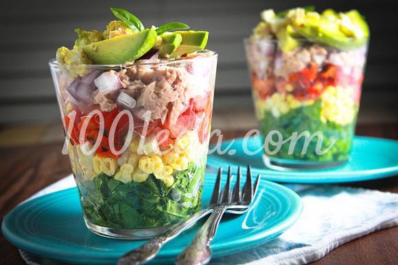 Радужный салат в стакане: рецепт с пошаговым фото - Шаг №5