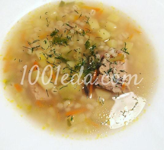 Рассольник с грибами и свининой: рецепт с пошаговым фото - Шаг №7