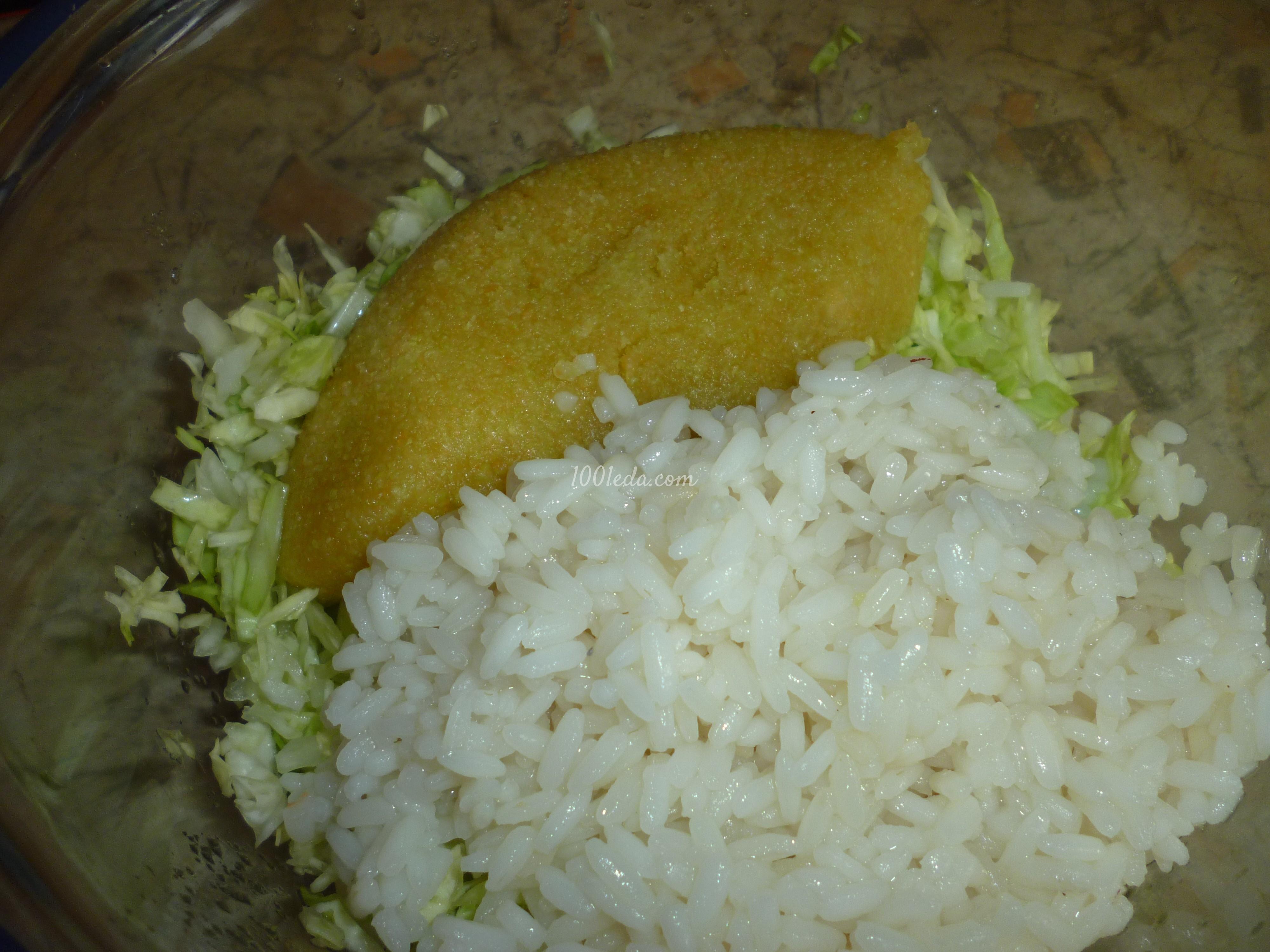 Рис с капустой рецепт с фото в мультиварке