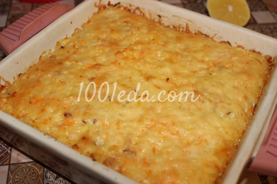морковная запеканка в духовке рецепт с фото пошагово в