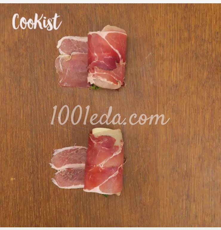 Быстрые роллы из курицы с беконом: пошагово с фото - Шаг №5