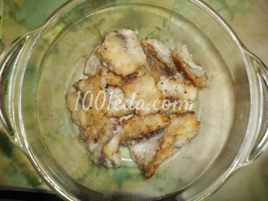 Рыба в пошаговый рецепт в духовке с луком и морковью