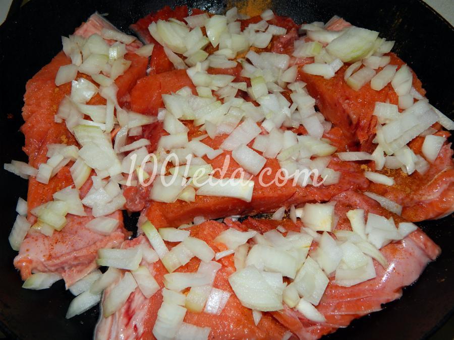 Рыба в духовке под майонезом и сыром с пошагово