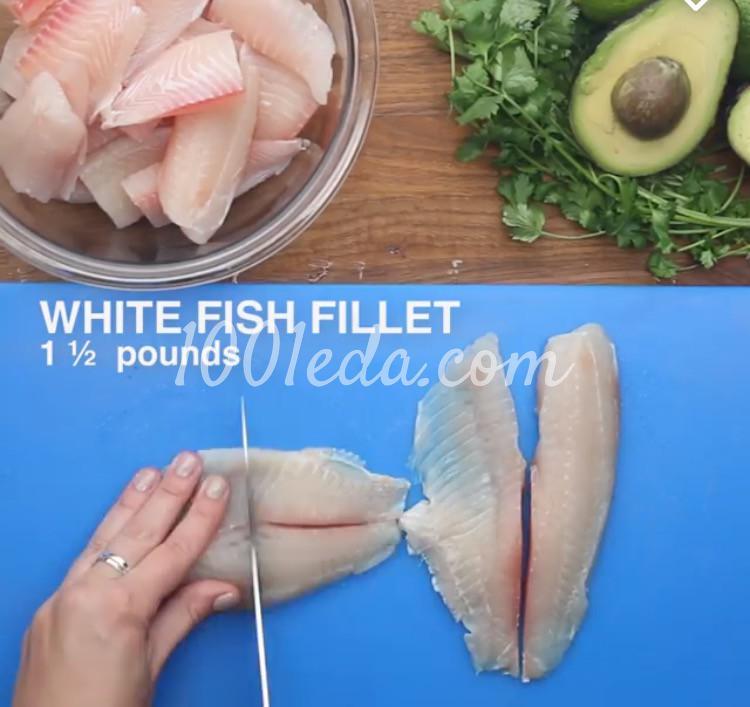 Рыбные палочки с соусом из авокадо: рецепт с пошаговым фото - Шаг №2
