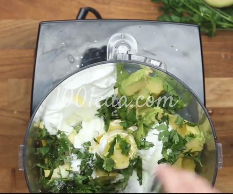 Рыбные палочки с соусом из авокадо: рецепт с пошаговым фото - Шаг №7