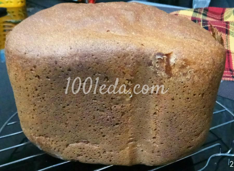 Ржаной хлеб на молоке в хлебопечке: пошаговый с фото - Шаг №9