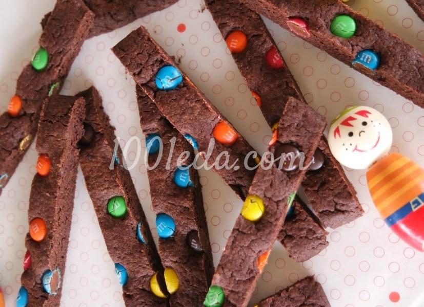 Шоколадное печенье с конфетами M&Ms: рецепт с пошаговым фото