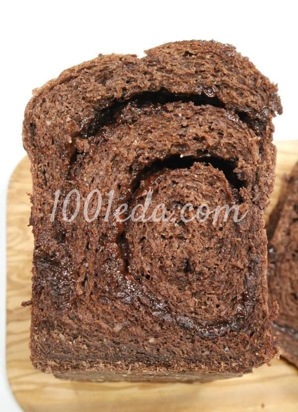 Шоколадный хлеб: рецепт с пошаговым фото