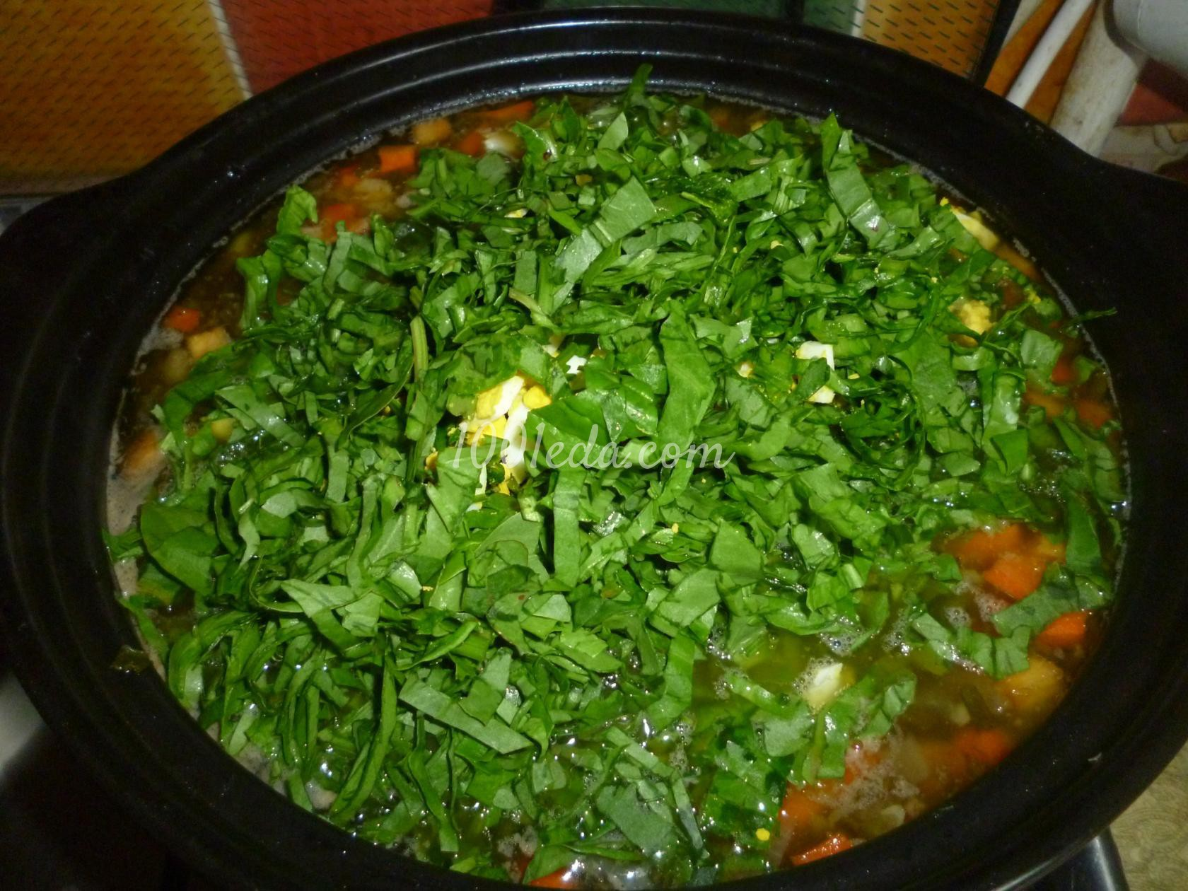 щавельный суп рецепт с яйцом в мультиварке