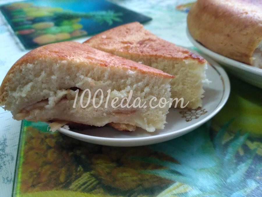 Пирог из замороженных яблок рецепт